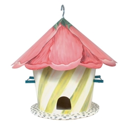 Mackenzie-Childs Hollyhock Birdhouse