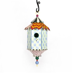 Mackenzie-Childs Flyer's Folly Birdhouse