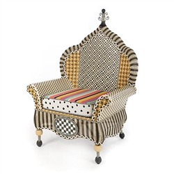 MacKenzie-Childs Courtyard Outdoor Wing Chair - Bathing Hut
