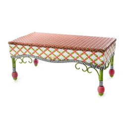 Mackenzie-Childs Breezy Poppy Outdoor Coffee Table