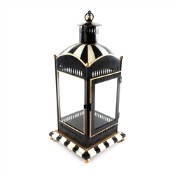 MacKenzie-Childs Courtly Stripe Candle Lantern - Large