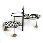 MacKenzie-Childs Courtly Check 3-Tiered Large Stand