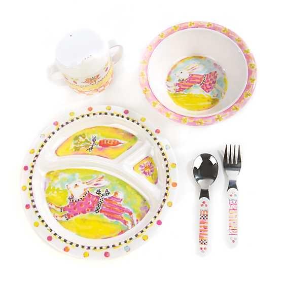 MacKenzie-Childs Toddler\u0027s Dinnerware Set - Bunny  sc 1 st  Chelsea Gifts & MacKenzie-Childs Toddler\u0027s Dinnerware Set - Bunny - Chelsea Gifts