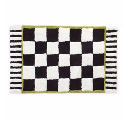MacKenzie-Childs Courtly Check Bath Mat