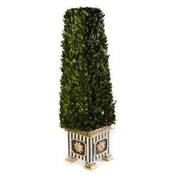 MacKenzie-Childs Boxwood Obelisk - Large