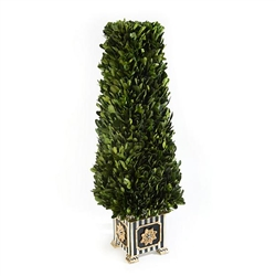 MacKenzie-Childs Boxwood Obelisk - Small