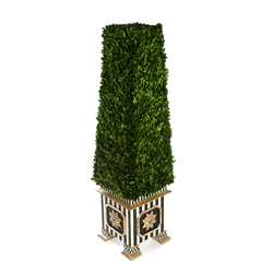 MacKenzie-Childs Boxwood Obelisk - Extra Large