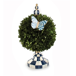 Mackenzie-Childs Royal Check Architect's Centerpiece - Medium