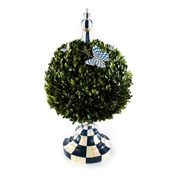 Mackenzie-Childs Royal Check Architect's Centerpiece - Large