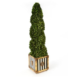 MacKenzie-Childs Swirl Topiary