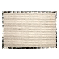 Mackenzie-Childs Cable Wool/Sisal Rug - 6' x 9'