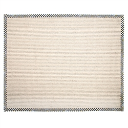 Mackenzie-Childs Cable Wool/Sisal Rug - 8' x 10'