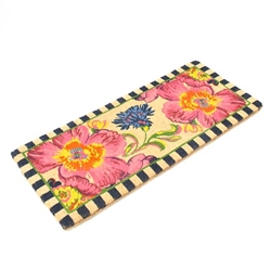 MacKenzie-Childs Flower Market Double Door Entrance Mat