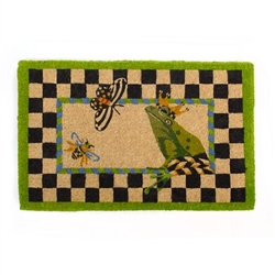 MacKenzie-Childs Frog Entrance Mat