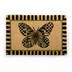 MacKenzie-Childs Butterfly Entrance Mat