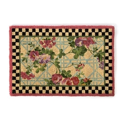 MacKenzie-Childs Morning Glory Entrance Mat