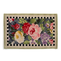 MacKenzie-Childs Tudor Rose Rug - 3 Ft. X 5 Ft.