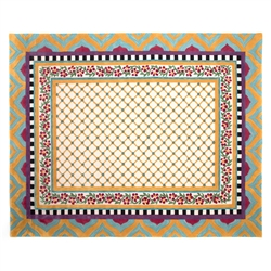 Mackenzie-Childs Hitchcock Field Rug - 8' x 10'