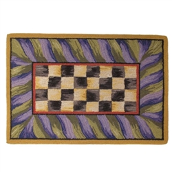 Mackenzie-Childs Courtly Check 2' X 3 ' Rug
