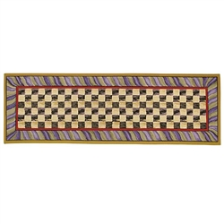 MacKenzie-Childs Courtly Check Rug - 2 Ft. 6 in. X 8 Ft. Runner
