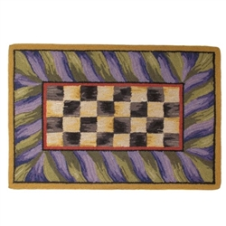 Mackenzie-Childs Courtly Check Rug 3' X 5'
