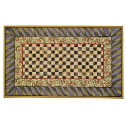 Mackenzie-Childs Courtly Check 5' X 8' Rug