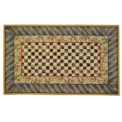 Mackenzie-Childs Courtly Check 9' X 12' Rug