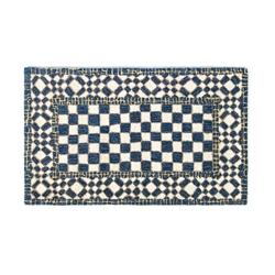 "Mackenzie-Childs Royal Check Rug - 2'3"" x 3'9"""