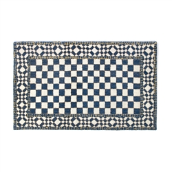 Mackenzie-Childs Royal Check Rug - 3' x 5'