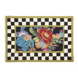 MacKenzie-Childs Flower Market Rug 2' X 3'
