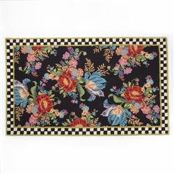 MacKenzie-Childs Flower Market Rug 5' X 8'