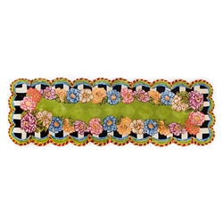 MacKenzie-Childs Cutting Garden Rug - 2 Ft. 8 in. X 8 Ft. Runner