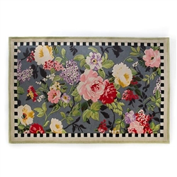 MacKenzie-Childs Tudor Rose Rug - 5 Ft. X 8 Ft.