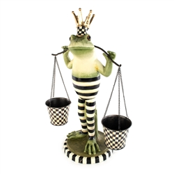 Mackenzie-Childs Fergal the Frog Double Plant Holder