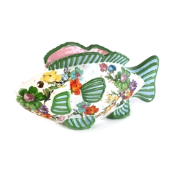 Mackenzie-Childs Flower Market Fish Planter