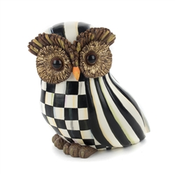 Mackenzie-Childs Courtly Stripe Owl