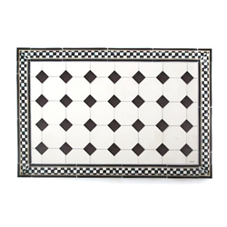 MacKenzie-Childs Westminster Floor Mat - 2 Ft. X 3 Ft.