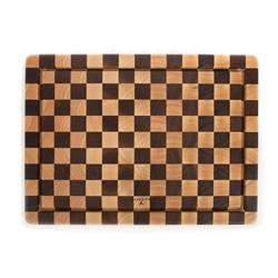 Mackenzie-Childs Check Carving Board