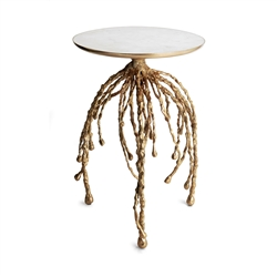 Michael Aram Water Hyacinth Accent Table