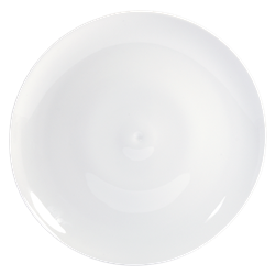Bernardaud Bulle White Dinner Plate