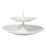 Bernardaud Bulle Two Tier Tray