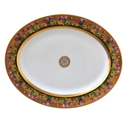 Bernardaud Limoges Heloise Oval Platter Large