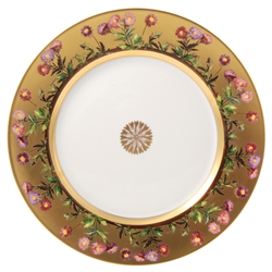 Bernardaud Limoges Heloise Dinner Plate - 10.2""