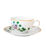 Bernardaud Limoges Jardin Indien Tea Cup Only Boule Shape