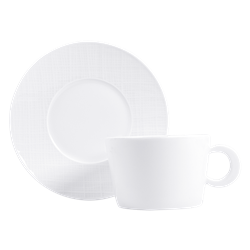 Bernardaud Organza Breakfast Cup
