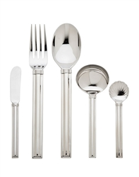 Ricci Argentieri Capri Stainless 5-Piece Hostess Set