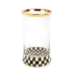 Mackenzie-Childs Courtly Check Highball Glass