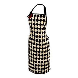 Mackenzie-Childs Courtly Harlequin Bistro Apron