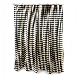 MacKenzie-Childs Courtly Harlequin Shower Curtain