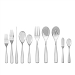 Nambe Anna 45-Piece Stainless Flatware Set